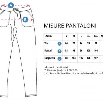 Tabella taglie Pantaloni